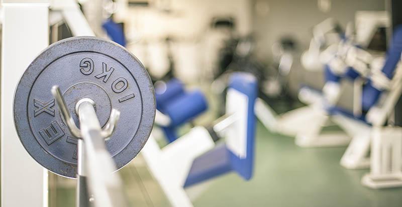 Fitnessstudio-Fitnessbereich