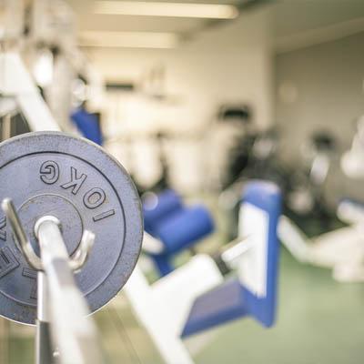 Fitness-Studio, Fitnessbereich,